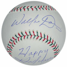 WILLIE DAVIS SIGNED HAPPY HOLIDAYS STEINER SPORTS RAWLINGS BALL LA DODGERS EXPOS