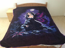 Fairy In Forest, Mink Style, Queen Size , Designed Blanket , Q974