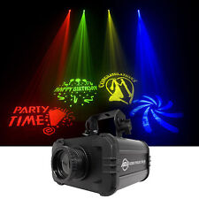 American DJ ADJ GOBO PROJECTOR IR LED Light w/ 4 Colors+4 Patterns