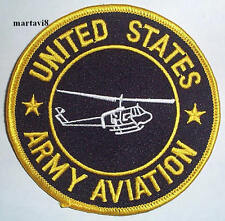 `UNITED STATES ARMY AVIATION` Cloth Badge / Patch (AC1)