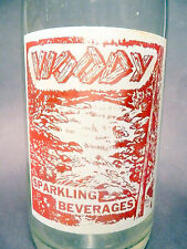 vintage ACL pop SODA BOTTLE-  WOODY of PHILIPSBURG, PA -- 32 oz ACL