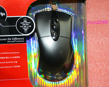 Packed new Microsoft IntelliMouse Explorer IE3.0 USB Gaming Mouse Silver