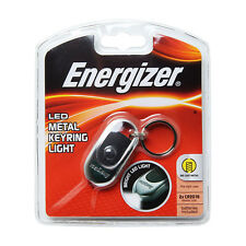 Energizer LED2BU2 Metal Keyring Bright LED Light Portable flashlight