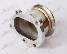 """GT25R GT28R 5 BOLT TO 3"""" INCH V-BAND VBAND CLAMP FLANGE DOWNPIPE ADAPTER"""