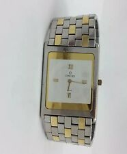 25MM TWO TONE 18K YELLOW GOLD AND STAINLESS STEEL CONCORD DELIRIUM WRIST WATCH