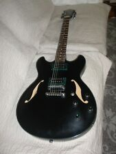 Ibanez Artcore AS 73B-BKF Semi-Hollow Body Electric Guitar +New Gig Bag