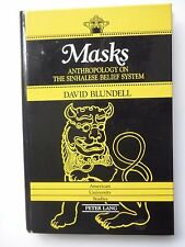 MASKS ANTHROPOLOGY ON THE SINHALESE BELIEF SYSTEM - PAR DAVID BLUNDELL