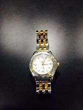 breitling watch callisto gold and steel ladies