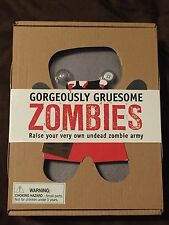 NEW Gorgeously Gruesome Zombies Raise Your Own Undead Army Box Set by Parragon