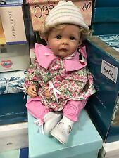 Eva Wakolbinger Vinyl Puppe 58 cm. Top Zustand