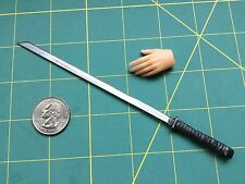 "1:6 Scale Apocalyptic ""Wasteland Ninja"" Sword Custom Steel Miniature By Auret"