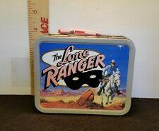 THE LONE RANGER Metal Lunchbox Box Mini Cherrios NICE SHAPE! 2001 Cheerios