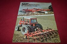 Massey Ferguson 129 Chisel Plow Dealer's Brochure DCPA6