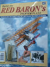 BUILD THE RED BARON'S FIGHTER PLANE FOKKER DR1  HACHETTE  ISSUE 47  NEW SEALED