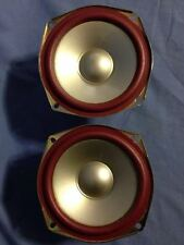 PAIR OF JVC 7 ohm 7Ω 300- J1XZ301300 SPEAKERS  6""