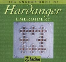 Ribbon Embroidery (The Anchor Book)-ExLibrary