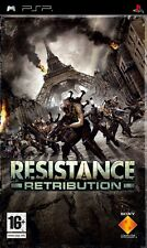 PSP resistance retribution jeu pal format excellent état