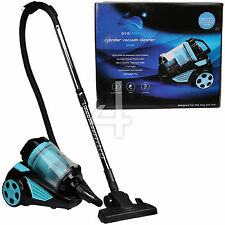 Ovation Compact Bagless Cylinder Vacuum Cleaner Hoover & Accessories Blue Black