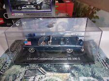 VOITURE DE CHEFS D'ETATS LINCOLN CONTINENTAL LIMOUSINE SS 100 X JFK  NEUF BOITE