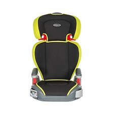 Graco Junior Maxi Group 2/3 Car Seat - Sport Lime Booster Age 4 - 12 years New