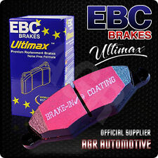 EBC ULTIMAX FRONT PADS DP1320 FOR FORD COMMERCIAL FIESTA 1.8 TD (ABS) 2000-2002