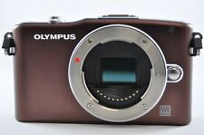 [Exc⁺⁺] OLYMPUS PEN E-PM1 12.3 MP Brown (Body) Mirrorless Digital SLR Camera
