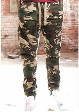 JORDAN CRAIG LEGACY EDITION CAMO WOODLAND  JOGGERS SWEAT PANTS SIZE : XL