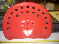 NEW RED ANTIQUE STYLE HORSE  FARM MACHINE & TRACTOR METAL BAR STOOL  SEAT