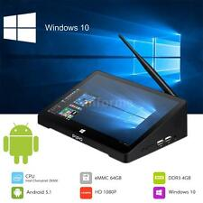 "10.8"" Mini PC Quad Core Window 10+Android Dual OS WIFI Tablet 4G/64G TV Box N3Q8"
