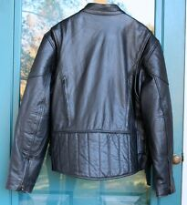 XELEMENT Motorcycle Leather Jacket Mesh Vents Biker Style sz 2XL XXL USA