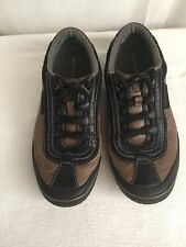 MERRELL Cosmos Granite Leather Lace Up Shoe - Women 9M EUR 40
