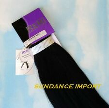 """INDIAN REMY HUMAN HAIR EXTENSION WEAVE WEFT 22"""" COLOR 1 JET BLACK"""