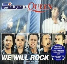 Five We will rock you (2000, + Queen) [Maxi-CD]