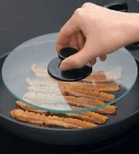 Glass Bacon Press. Helps to cook bacon healthily and evenly. Dishwasher Safe
