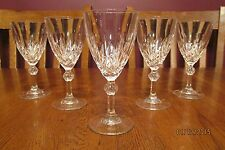 "Stunning Set Of Five RCR Linea Gala 6 1/4"" Crystal Wine Glasses"
