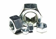 """(100) 5/8""""-11 Hex Nuts - Stainless Steel"""