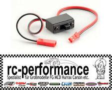 EinAus Schalter mit Kabel BEC 2x0,34 für FG MCD Hurrax Reely Carson Unterbrecher