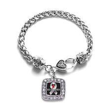 Inspired Silver Diabetes Awareness Bracelet