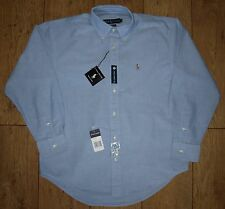 "Bnwt Authentic Ralph Lauren Oxford Yarmouth Dress Shirt 14.5"" Small Button Down"