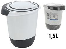 Rührschüssel 1,5 Liter Quirltopf Schüssel Teigschüssel Spritzschutz Backschüssel