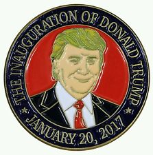 Donald Trump Presidential Inauguration Portrait Lapel Pin/Hat Tac