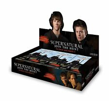 Supernatural Seasons One to Three Factory Sealed Trading Card Hobby Box