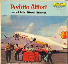 """PEDRITO ALTIERI Y SU BANDA DE ACERO """"WHAT CAN I DO"""" CALYPSO STEEL BAND 60'S LP"""