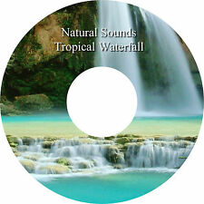 Natural Sounds Gentle Tropical Waterfall CD  Relaxation Deep Sleep Stress Relief