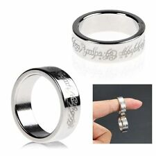 Magnetic Ring Magnet Coin Finger Pro Magic Tricks Props Show Time Tool FG