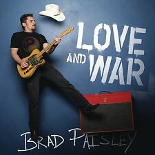 BRAD PAISLEY LOVE AND WAR CD - NEW RELEASE APRIL 2017