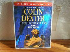 audiox2 cassettes colin dexter THE DAUGHTERS OF CAIN