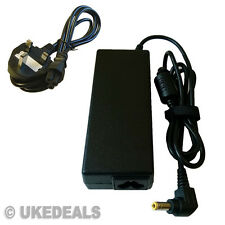 90W FOR TOSHIBA SATELLITE PRO A200-1YK POWER SUPPLY PSU + LEAD POWER CORD