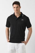 LACOSTE SPORT men's XS size 3, 100% POLY POLO SHIRT in Navy blue DH9394 51, NWT