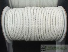 PU Leather Braid Rope Hemp Cord Thread For Diy Bracelet Necklace Jewelry Making